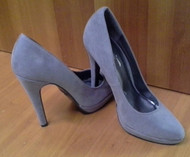 SHOES. Major Name Brand! Classic Grey High Heels!