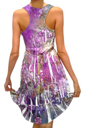 Purple Sublimation / Tie Dye Dress from VOLUME ONE!!