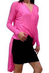 Pink, Hi-Low, Flyaway Dress / Long Top!