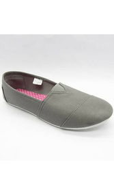 """Inspired by Major Brand! Classic Grey """"Toms"""" Style Flats!"""