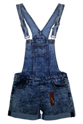 95% COTTON DENIM ROMPER OVERALLS! AMAZING QUALITY & STYLE FOR THIS PRICE!