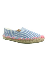 Coolway Shoes Adorable Flats in Blue & White Stripes!