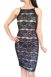 Black & White Lace Bodycon!