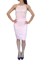 Pink & White Lace Bodycon!