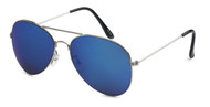 HIGH QUALITY UV400 PROTECTION SUNGLASSES. CLASSIC AVIATORS! BLUE.