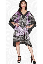 ONE SIZE KAFTAN DRESS (Up to Size 18). DASHIKI PAISLEY PRINT. CHOOSE FROM 6 COLORS!