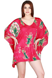 ONE SIZE BOHO COVERUP DRESS - CHOOSE FROM 4 COLORS! ONE SIZE (Up to Size 18).