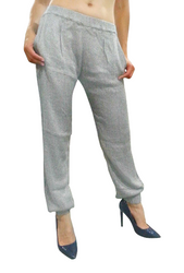 NORDSTROM'S QUALITY HAREM STYLE PANTS WITH TAPERED LEGS! GREY.