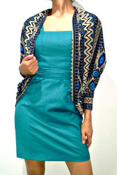 PLUS SIZE Flyaway Cardigan in Aztec Print! Blue, Brown, Black.