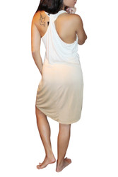 NORDSTROM'S QUALITY Ombre Tank Dress in Cream!