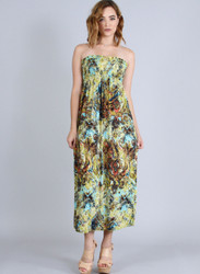 Tie Dye Paisley Maxi Dress from BOGO USA!