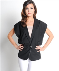 Boutique Brand Black Blazer from ALYTHEA is 30% Cotton!