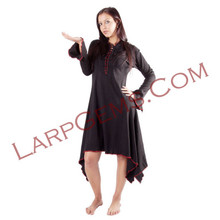 Black With Red Stitching