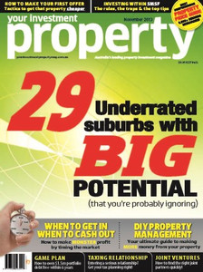 2013 Your Investment Property November issue (available for immediate download)