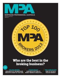 Mortgage Professional Australia December 2013 issue (soft copy only)
