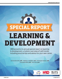 HC Special Report: Learning & Development 2013 (available for immediate download)