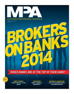 2014 Brokers on Banks (soft copy only)