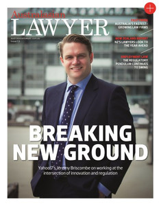 Australasian Lawyer 1.05 issue (soft copy only)