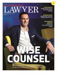 2015 Australasian Lawyer 2.01 issue (soft copy only)