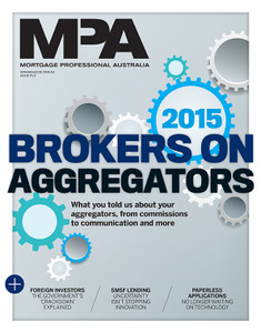 2015 Mortgage Professional Australia May issue (available for immediate download)