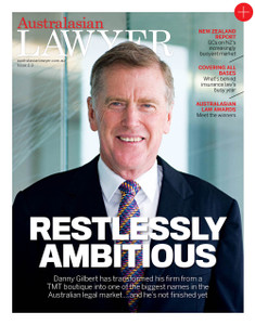 2015 Australasian Lawyer 2.03 issue (available for immediate download)