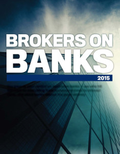 2015 Brokers on Banks (soft copy only)