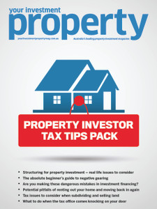 Property Investor Tax Tips Pack (soft copy only)