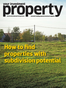 How to find properties with subdivision potential (soft copy only)