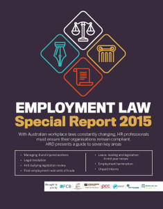 EMPLOYMENT LAW Special Report 2015 (soft copy only)