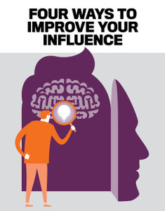 FOUR WAYS TO IMPROVE YOUR INFLUENCE (soft copy only)