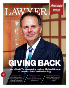 2016 Australasian Lawyer 3.03 issue (soft copy only)