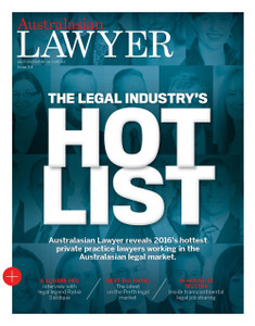 2016 Australasian Lawyer 3.04 issue (soft copy only)