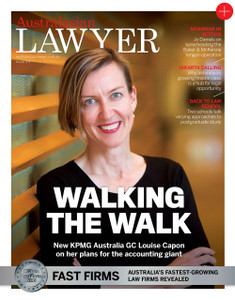 2016 Australasian Lawyer 3.05 issue (soft copy only)
