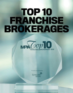 2016 Top 10 Franchise Brokerages (soft copy only)