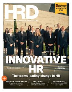 Custom cover (PDF only) - HRD Innovative HR Teams