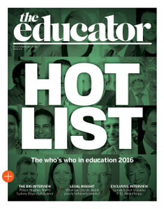 2016 The Educator November issue (available for immediate download)