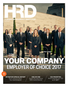 Custom cover poster - HRD Employer of Choice