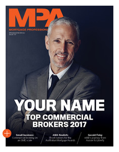 Custom cover poster  - 2017 MPA Top Commercial Brokers