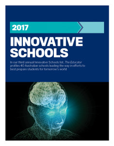 2017 Innovative Schools (available for immediate download)