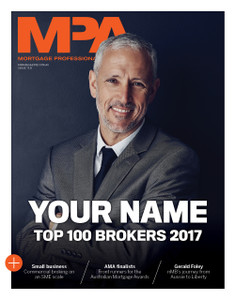 Custom cover poster  - 2017 MPA Top 100 Brokers