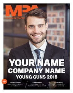Custom cover (PDF only) - 2018 MPA Young Guns