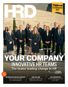 Custom cover poster  - 2018 HRD Innovative HR Teams