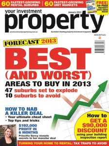2013 Your Investment Property January issue (soft copy only)
