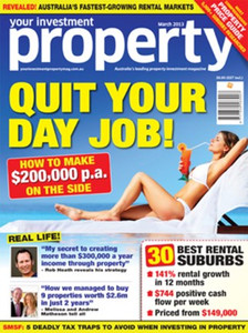 2013 Your Investment Property March issue (soft copy only)
