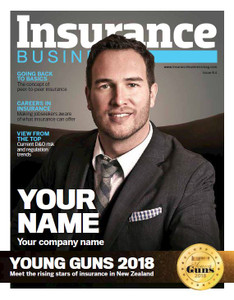 Digital Custom cover (PDF only) - 2018 Insurance Business New Zealand Young Guns