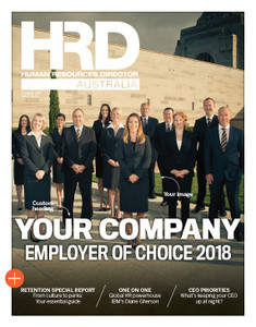 Digital Custom cover (PDF only) - 2018 HRD Australia Employer of Choice