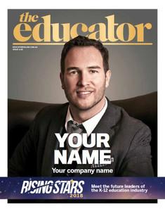 Digital custom cover (PDF only) - 2018 The Educator Rising Stars