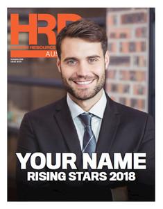 Digital Custom cover (PDF only) - 2018 HRD Australia Rising Stars