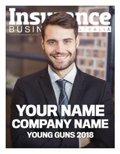 Custom cover A1 poster - 2018 Insurance Business Australia Young Guns