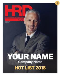 Custom cover poster - 2018 HRD Hot List